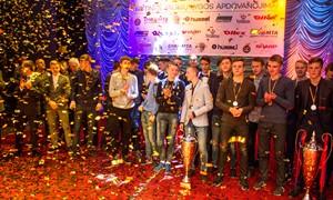 Apdovanoti Elitinės jaunių lygos laureatai