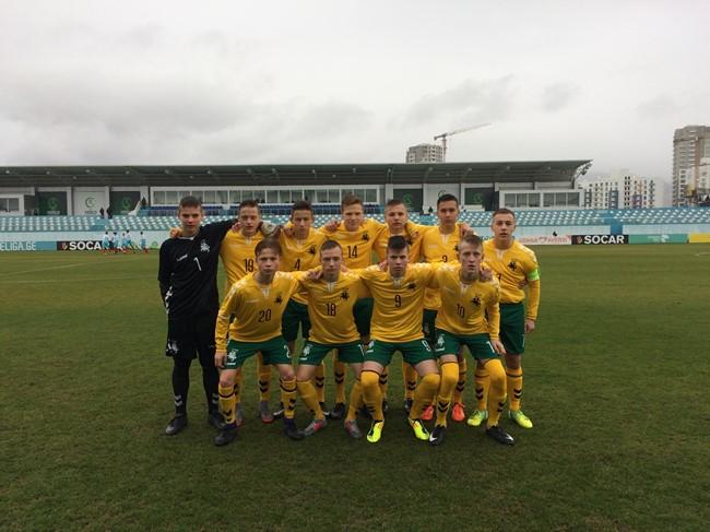 Naujai suburta U-15 rinktinė dalyvavo turnyre Gruzijoje