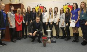 Kauno apskrities futbolo federacija pagerbė metų geriausius