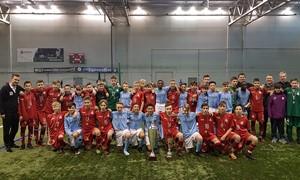 """NFA U-14 komanda """"Riga Cup"""" finale rungtyniavo su """"Manchester City"""" jaunimu"""