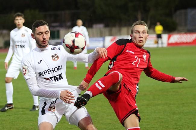 U-21 rinktinė po įtemptos kovos pralaimėjo Rusijos aukščiausios lygos klubui