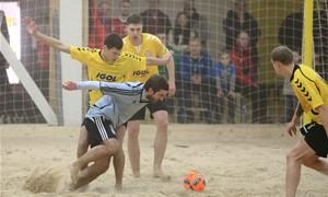 Skelbiama registracija į paplūdimio futbolo žiemos varžybas