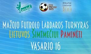 Lietuvos šimtmetis bus paminėtas labdaringu mažojo futbolo turnyru