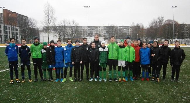 Atranka į Regionų pirmenybes pritraukė Vilniaus regiono futbolininkus