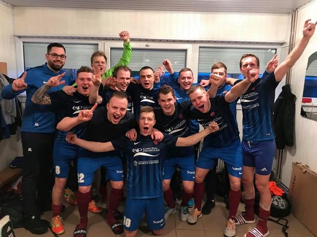 """Betsafe-Futsal A lygoje"" lyderiai šventė pergales"