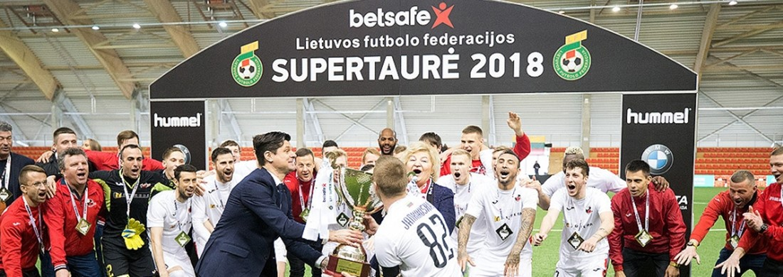"""""""Betsafe LFF Supertaurėje"""" – """"Sūduvos"""" triumfas"""