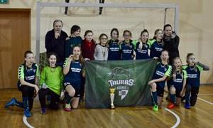 Utenoje pirmąkart surengtame LMFA mergaičių čempionate triumfavo kaunietės