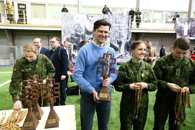 Per futbolą – gilesnė vaikų pažintis su Lietuvos istorija
