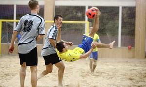 Paplūdimio futbolo žiemos pirmenybėse prabėgo II turas