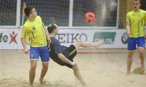 Paplūdimio futbolo pirmenybėse – turiningas III turas
