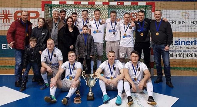 "Klaipėdos I lygos pirmenybėse triumfavo debiutantė ""Krantona"""