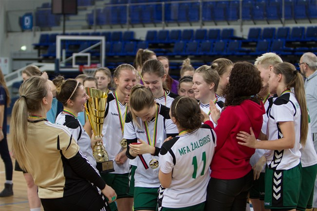 Moterų salės futbolo čempionate varžysis 13 komandų