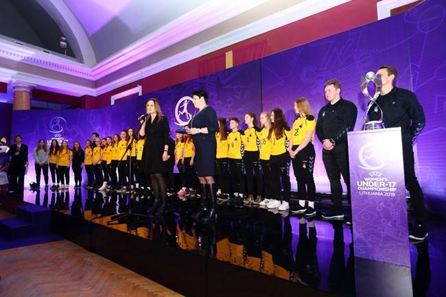 Pristatytas Lietuvoje vyksiantis Europos čempionatas