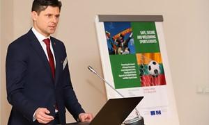 LFF vadovai dalyvavo seminare dėl integruoto požiūrio į sporto renginių saugumą