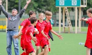 """""""Pažink pasaulį futbolo aikštėje"""" projektas suvienys daugiau kaip 300 dalyvių"""
