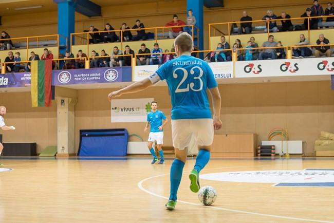 """Naudingiausiu """"Betsafe-Futsal A lygos"""" sezono žaidėju išrinktas A. Skurdelis"""