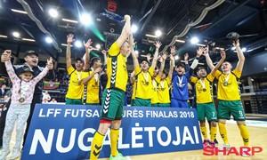 Tęsiasi registracija į LFF Futsal taurės turnyrą