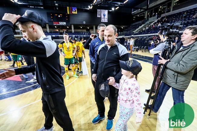 Po LFF Futsal taurės finalo – pozityvios abiejų komandų nuotaikos