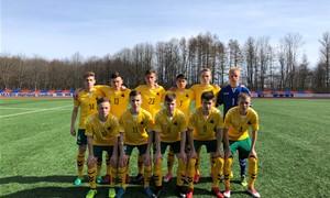 U-16 rinktinė UEFA turnyrą užbaigė triuškinama pergale