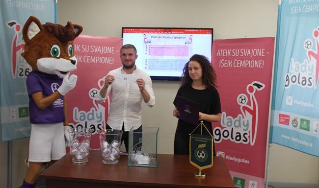 """Nuotaikingi burtai lėmė """"LadyGolo"""" superfinalo grupes"""