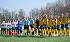 WU-16 rinktinė nesėkme pradėjo UEFA Talentų turnyrą