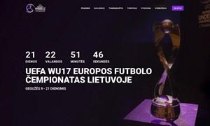 Startavo WU17 čempionato svetainė ir bilietų platinimas