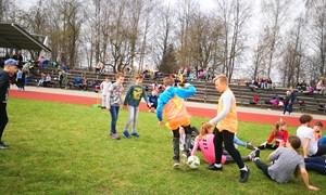 Marijampolėje 200 moksleivių subūrė WU17 čempionato futbolo festivalis