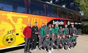 Pirmoji istorijoje Lietuvos futsal moterų rinktinė jėgas išbandys Baltarusijoje