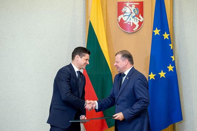 LFF ir LR Vyriausybė pasirašė susitarimą