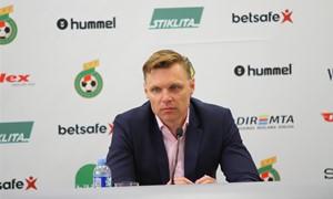 """E. Jankauskas: """"Norime sugrąžinti Baltijos taurę į Lietuvą"""""""