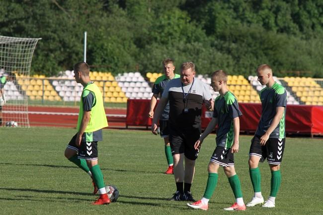 Baltijos taurę apginti sieksianti U-19 rinktinė susirinko į stovyklą Palangoje