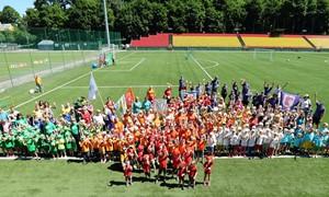 Futbolo festivalis LFF stadione įtraukė per 300 dalyvių