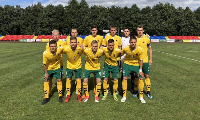 Lietuvos U-19 rinktinė pergale pradėjo Baltijos taurės turnyrą