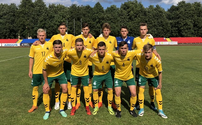 U-19 rinktinė patyrė pirmą nesėkmę Baltijos taurėje