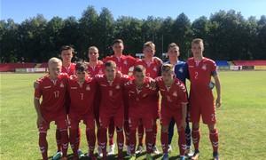 U-19 rinktinė Baltijos taurėje finišavo įspūdinga pergale