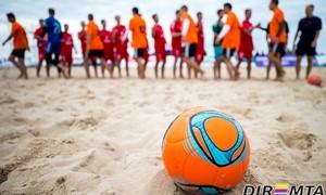 Paplūdimio futbolo čempionato I turas – naujoje Prienų aikštelėje
