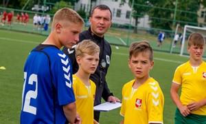 Prasidėjo žaidėjų atrankos į Nacionalinę futbolo akademiją