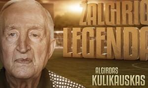 Netekome legendinio futbolininko Algirdo Kulikausko
