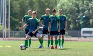 U-17 rinktinė pradėjo darbą su nauju treneriu