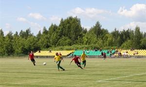Atidarytas Anykščių miesto centrinis stadionas