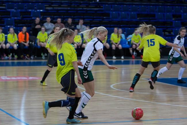 Formuojama pirmoji moterų salės futbolo rinktinė