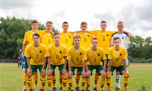 U-17 rinktinė žais tarptautiniame turnyre Ukrainoje