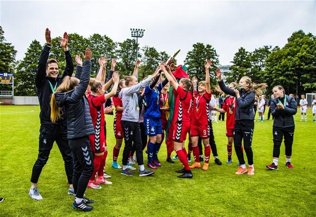 WU17 rinktinė – Baltijos čempionės