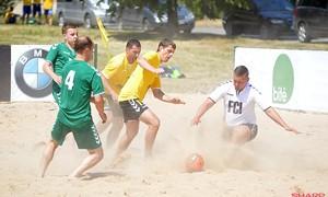 Paplūdimio futbolo čempionato II turas – Kupiškyje
