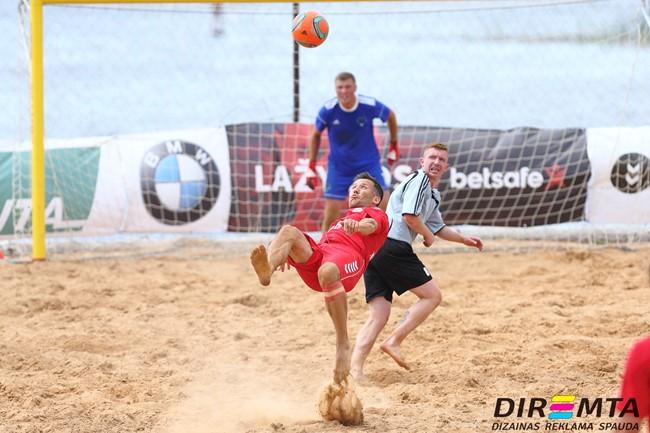 Paplūdimio futbolo čempionato pabaigtuvės – Nidoje