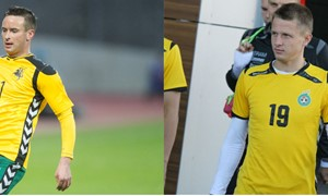 Du futbolininkai pašalinti iš rezervinės rinktinės