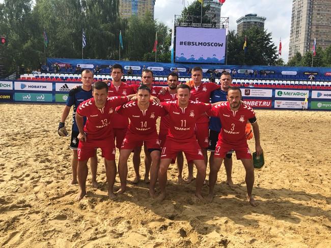 Paplūdimio futbolo rinktinė žaidė tarptautiniame turnyre