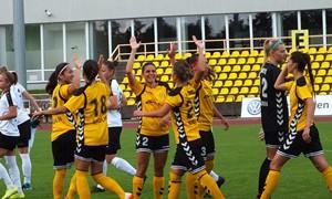 """""""Gintra-Universitetas"""" užtikrintai žengė į Baltijos moterų lygos finalą"""
