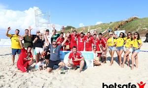 "Paplūdimio futbolo čempionai – vėl ""Igol"""