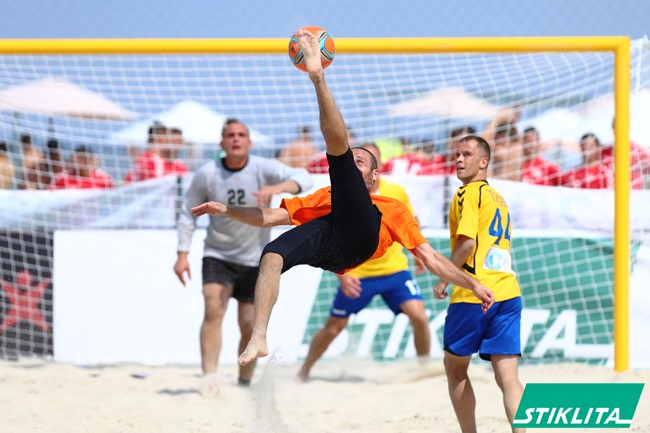 Prie starto linijos: paplūdimio futbolo čempionatas